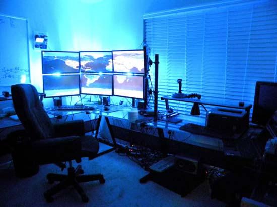 Εντυπωσιακά γραφεία στο σπίτι (7)