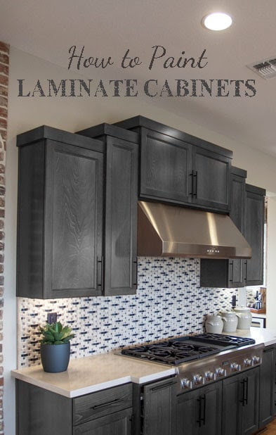 How To Paint Laminate Cabinets - Painted Furniture Ideas