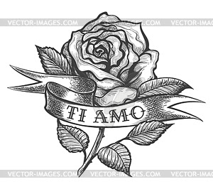 Tattoo Ribbon Vector At Getdrawingscom Free For Personal Use