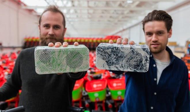 Компания Lime нашла способ превращать батареи старых электровелосипедов в Bluetooth-колонки