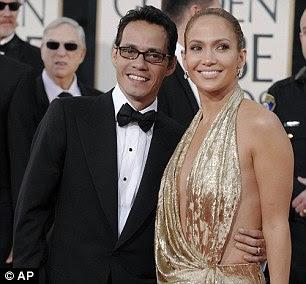 Dividido difíceis: split Lopez de ex-marido Marc Anthony em julho