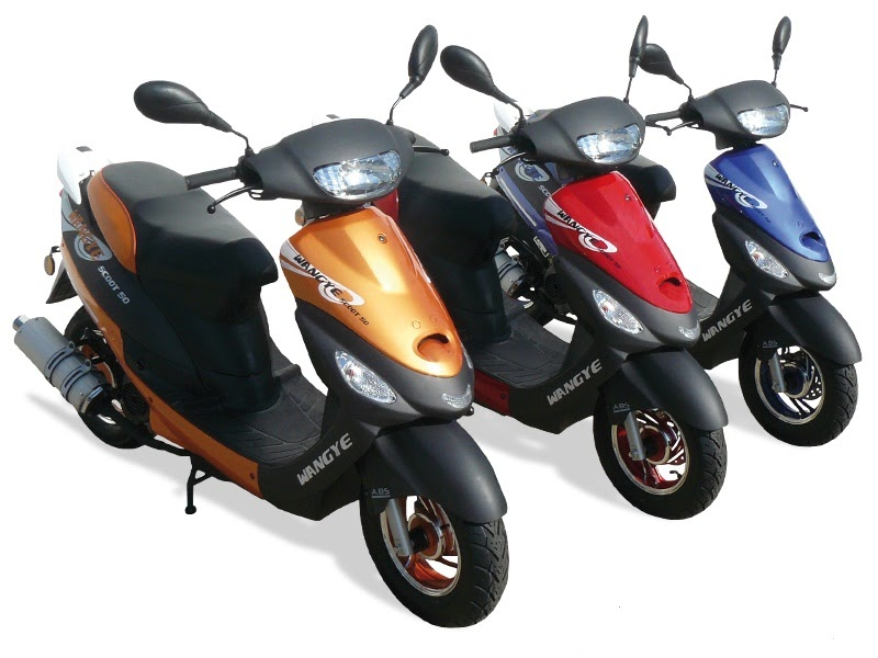 route occasion scooter pas cher 50