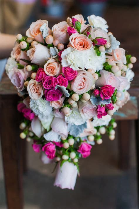 Pink Wedding Flowers   Red Earth Flowers