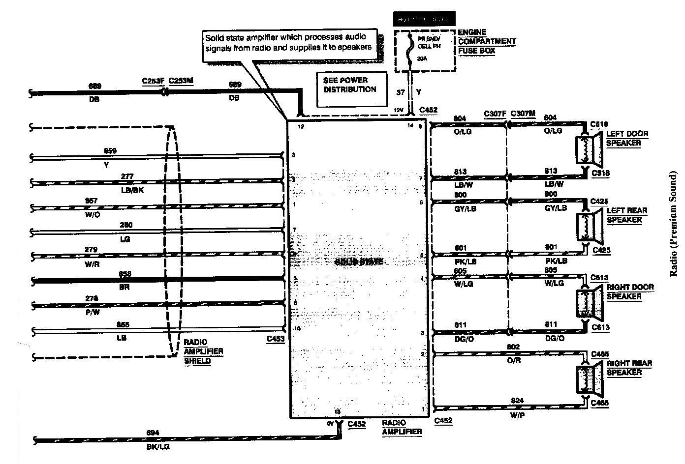 95 Mark 8 Jbl Wiring Diagram Needed Lincolns Online Message Forum