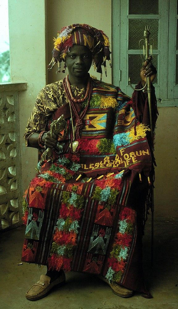 Adesima Adeyemi, from Ijebu-Ife. Yoruba peoples, Nigeria. Photo by Lisa Aronson.