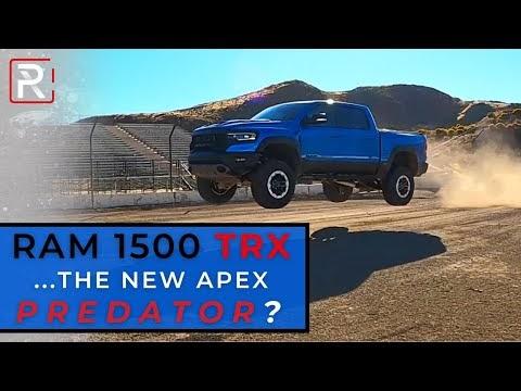 The 2021 Ram TRX is Hellcat Powered Apex Predator of Off-Road Trucks