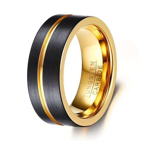 Aliexpress.com : Buy 8mm Wide Fashion Men's Tungsten Ring