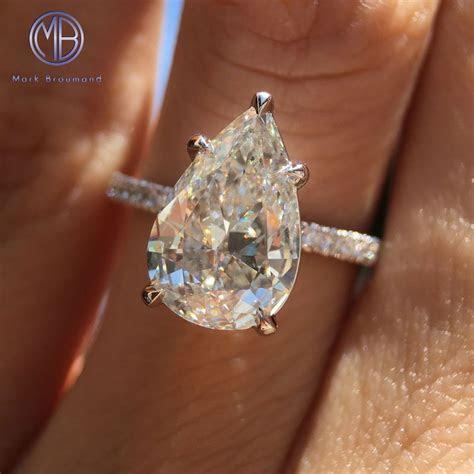 Shine bright like a diamond! 3.06ct pear shaped diamond