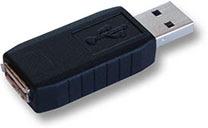 English: This is a hardware based USB keylogger.