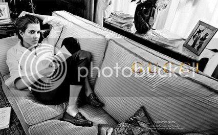 Charlotte Casiraghi Latest Gucci Campaign
