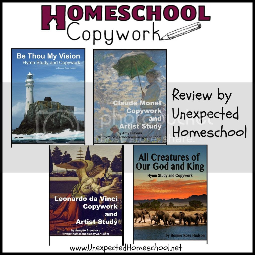Homeschool Copywork - More than just handwriting!