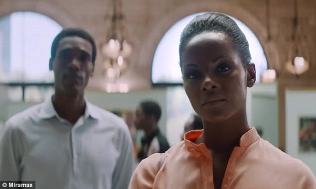 Southside With You, starring Parker Sawyers as Barack Obama (left) and Tika Sumpter as Michelle (right) came out on Friday and grossed $3 million during its first weekend