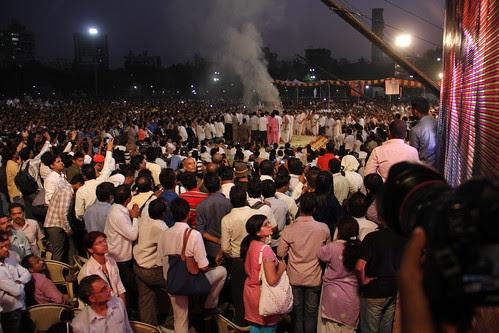 Last Rites Mr Balasaheb Thackeray Shivaji Park -Om Shanti Om by firoze shakir photographerno1