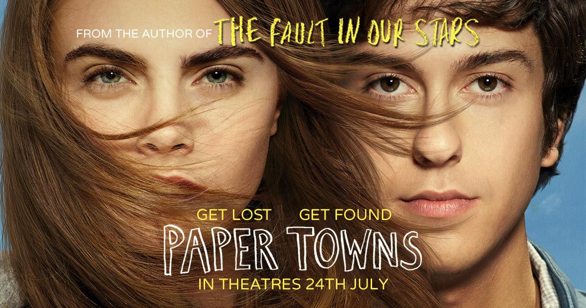 Znalezione obrazy dla zapytania paper towns