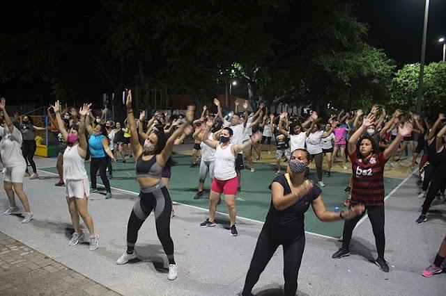 Aulão de dança marca encerramento do Delta Férias 2021
