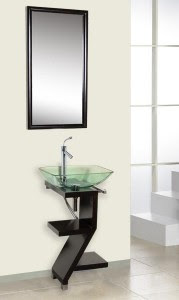 Installing a Sleek Contemporary Bathroom Vanity Personalizes Your ...