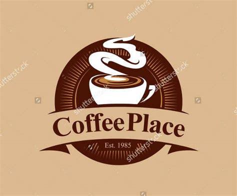 coffee logo printable psd ai vector eps format