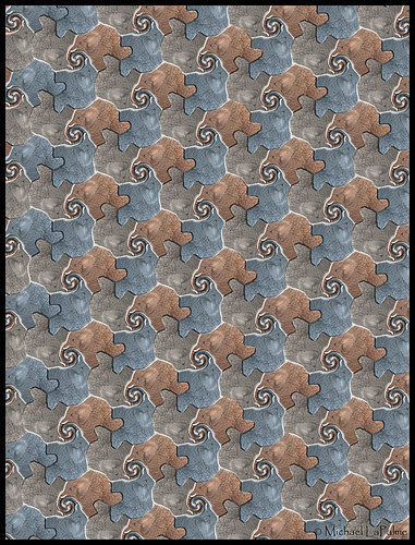 Tessellating Elephants © 2012 Michael LaPalme