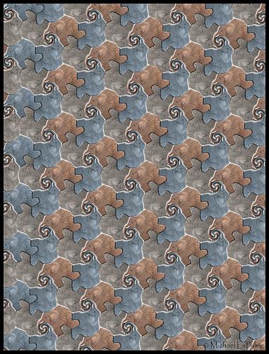Tessellating Elephants © 2012 Michael LaPalme