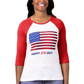 Patriotic USA 4th of July T-Shirt