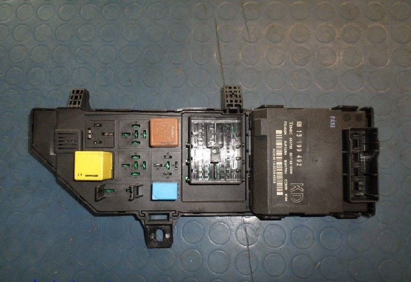 Fuse Box In Vauxhall Vectra