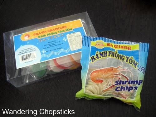 Banh Phong Tom (Vietnamese Shrimp Chips) 3