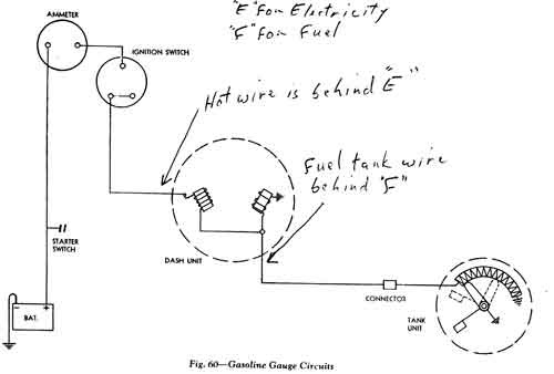Basic Wiring Diagram Fuel Gauge