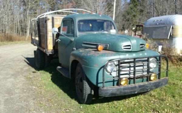 We Love Ford's, Past, Present And Future.: 1949 Ford F5 ...