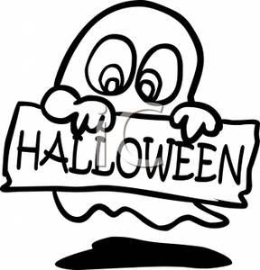 Halloween Clip Art Black And White Clipart Panda Free Clipart Images