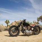 (Custom Harley bobber from Theresa Contreras)