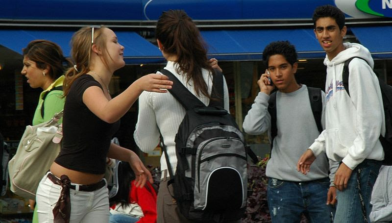 File:Diversity of youth in Oslo Norway.jpg