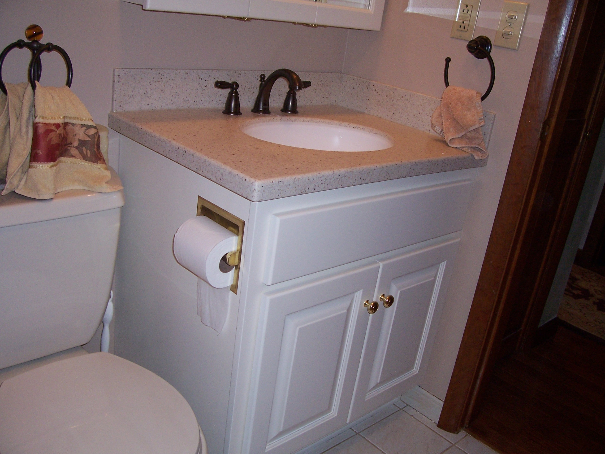 Custom Bathroom Vanities And Wall Cabinets Jeffrey William