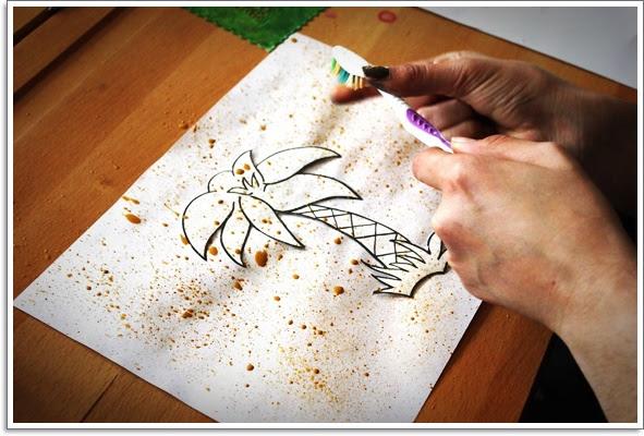 3 Sınıfta Sulu Boyama çalışmaları Eğitim Için