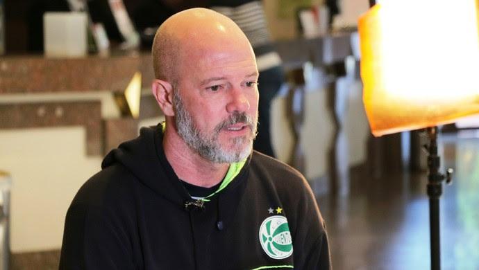 Antônio Carlos Zago técnico Juventude (Foto: Tomás Hammes / GloboEsporte.com)