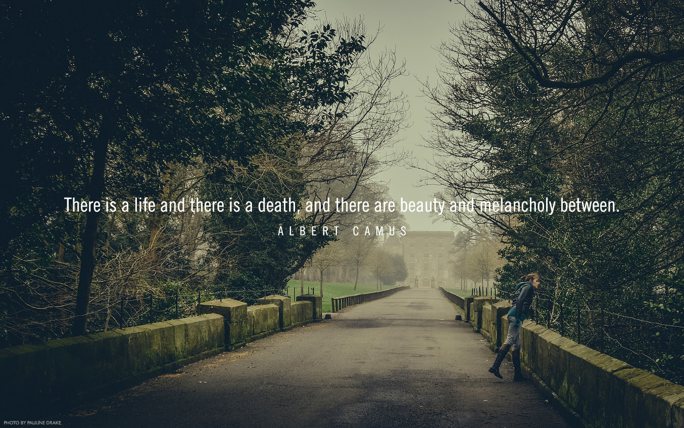 There Is A Life And There Is A Death And There Are Beauty And