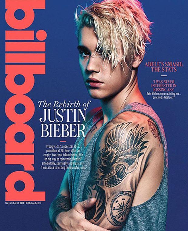 Justin Bieber : Billboard (November 14, 2015)