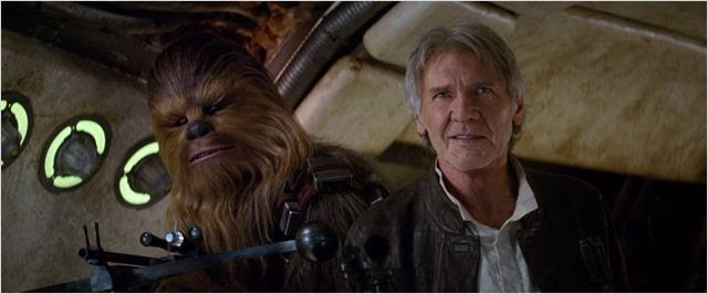 Star Wars - O Despertar da Força : Foto Harrison Ford, Peter Mayhew