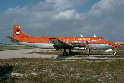 ACES Colombia Saunders ST-27 (DH.114 Heron) HK-1286 (msn 14058) FLL (Bruce Drum). Image: 102924.