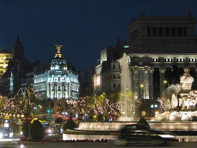 Plaza de Cibeles Foto