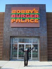 Bobby's Burger Palace exterior at Monmouth Mall