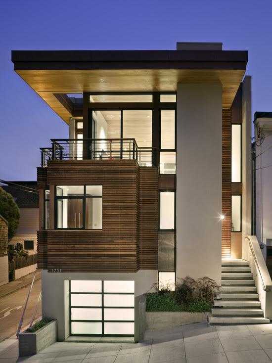 71 Contemporary Exterior Design Photos: Simple Home Outer Wall Design