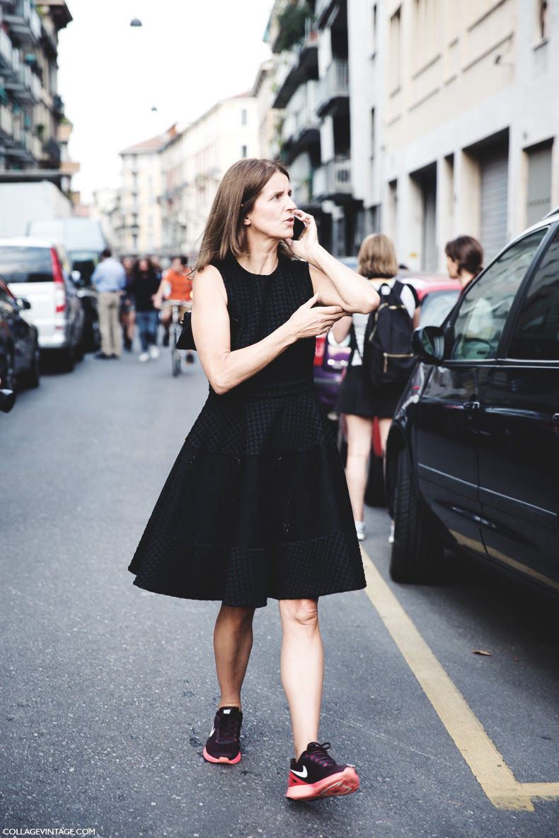 New_York_Fashion_Week_Spring_Summer_15-NYFW-Street_Style-Sneakers_Lady_Dress-
