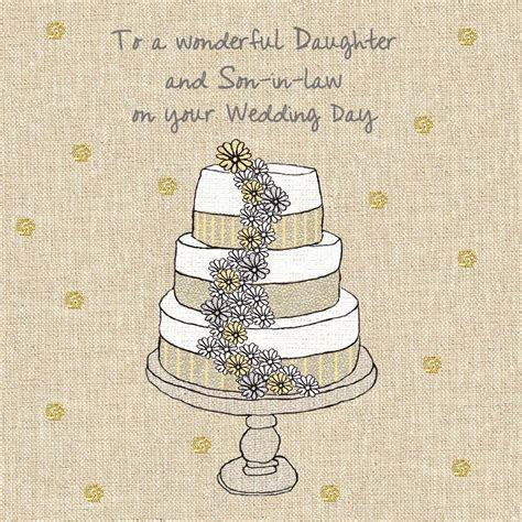 Daughter & Son In Law Wedding Cake Wedding Card   Karenza