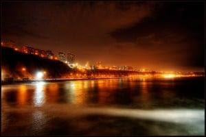 Lima-Peru-foto-nocturna-pcweb, vuelo Bogota-Lima, primer viaje a Peru en avión