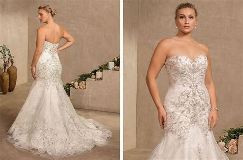 Top Plus Size Wedding Dresses under $1,500 by Casablanca