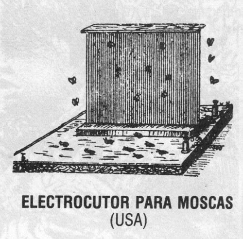 electrocutor para moscas