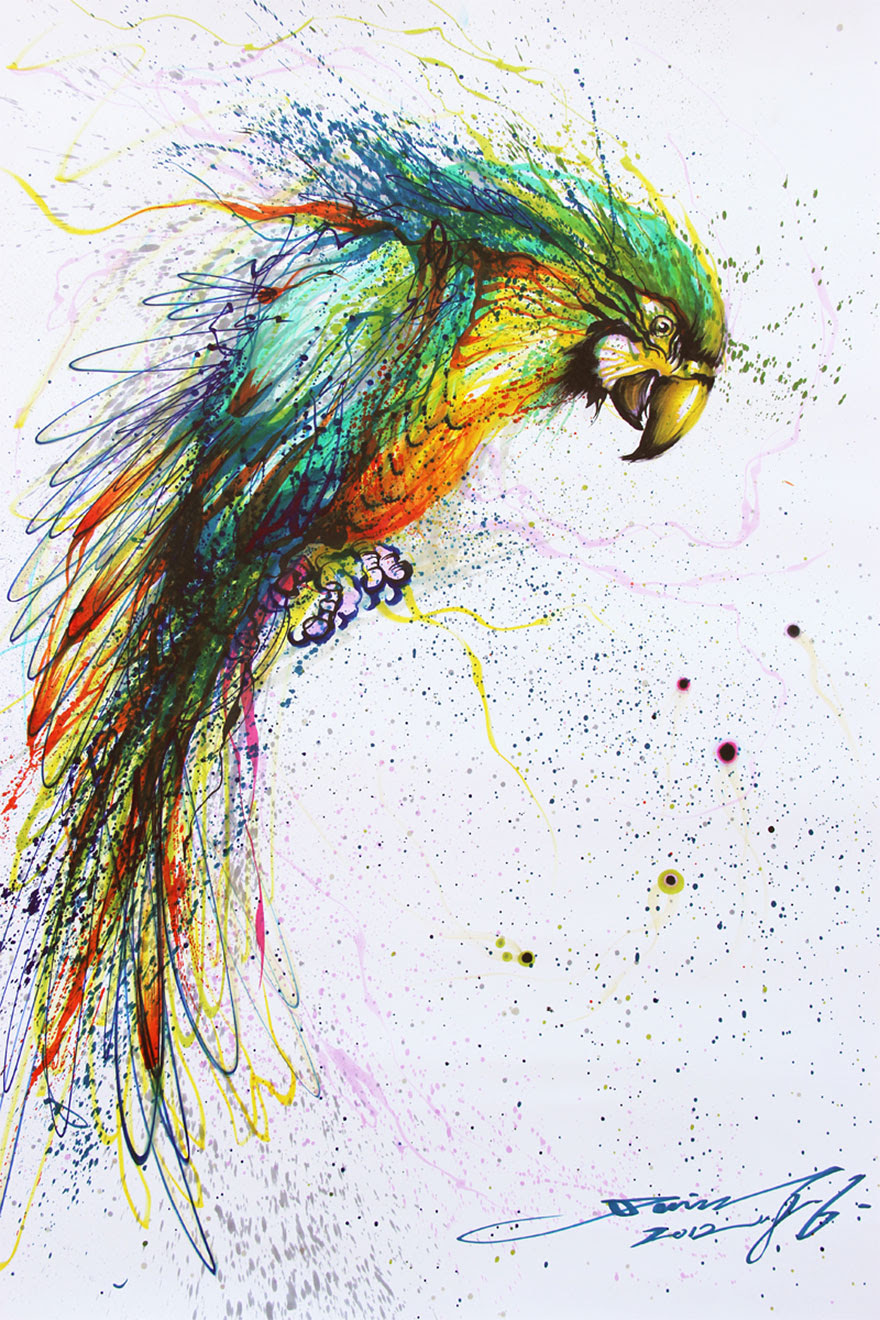 pinturas-salpicadas-animales-hua-tunan (8)