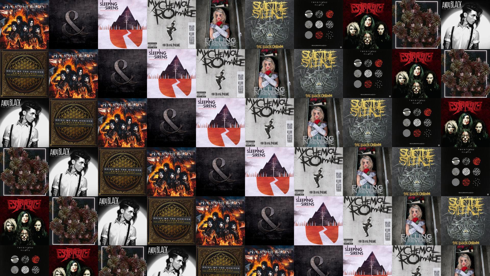 Black Veil Brides Set World On Fire Mice Wallpaper Tiled Desktop