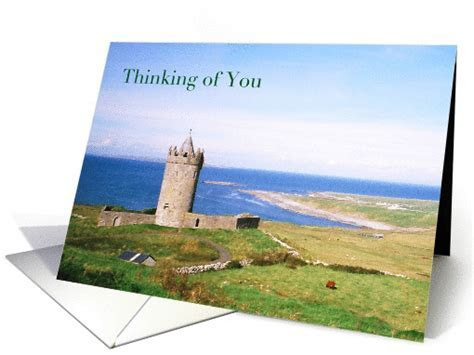 Thinking Of You Across The Miles Ireland Castle card (835111)