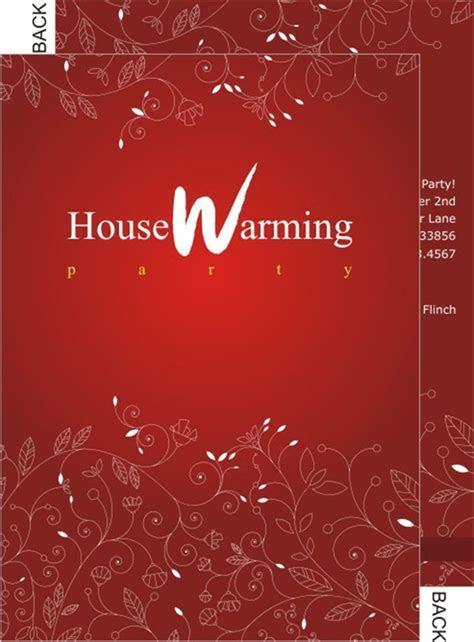 House Warming Ceremony Invitation Card Templates